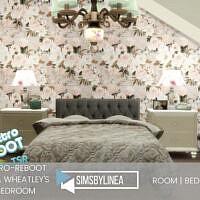 Retro Alma Wheatley's Bedroom By Simsbylinea