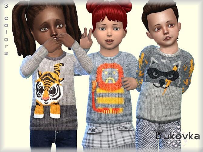 Sims 4 Shirt Grey by bukovka at TSR