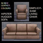 Sofa And Living Chair Leather Recolours By Simmiller