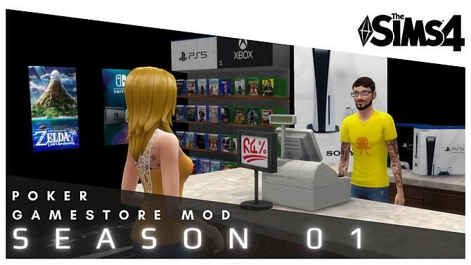 Gamestore Mod Season 01