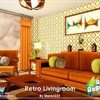 Retro Living Room By Sharon337
