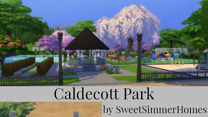 Sims 4 Caldecott Park by SweetSimmerHomes at Mod The Sims 4