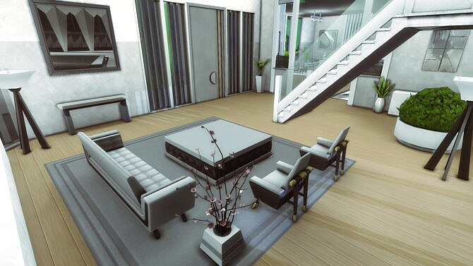 Sims 4 Modern Mansion by plumbobkingdom at Mod The Sims 4