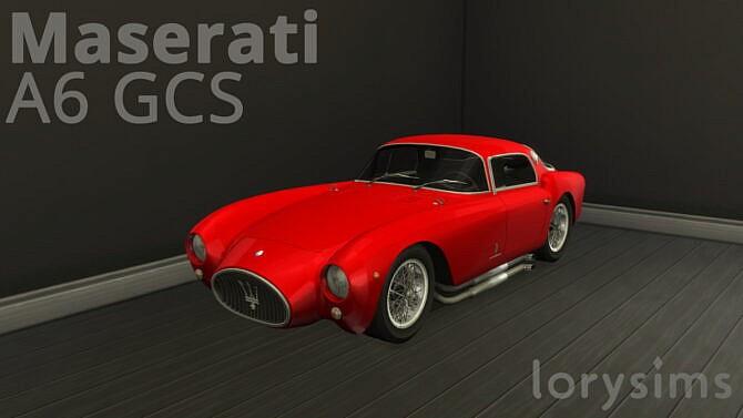 Sims 4 Maserati A6 GCS at LorySims