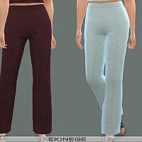 Knit Lounge Pants Set 24 2 By Ekinege
