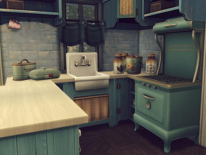 Sims 4 Princessa home by GenkaiHaretsu at TSR