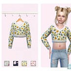 Spring Cropped Sweater By Pinkfizzzzz