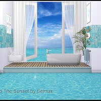 Hold The Sunset Spa Bathroom Set By Seimar8