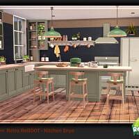 Retro Kitchen Enya Pt. 1 By Ung999