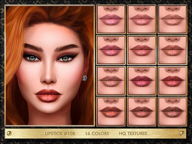 Sims 4 LIPSTICK #108 by Jul Haos at TSR