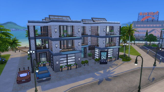 Sims 4 Six Functional Trendy Apartments by bradybrad7 at Mod The Sims 4