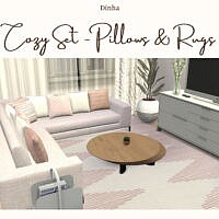 Cozy Set Pillows & Rugs