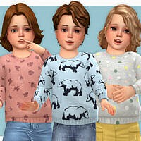 Cozy Sweater For Toddler 02 By Lillka