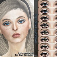 Retro Twiggy's Eyes By Caroll91