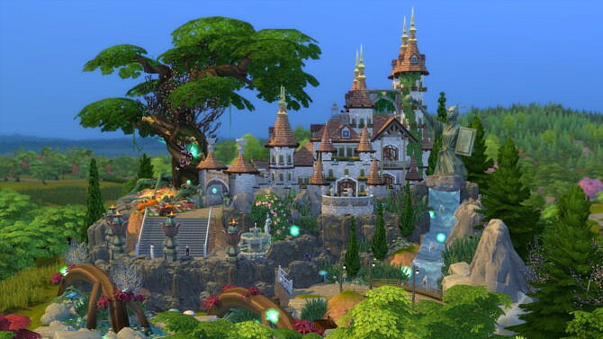 Magical Wizard Castle By Bradybrad7