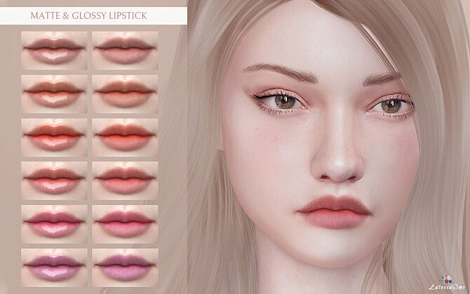 Matte & Glossy Lipstick