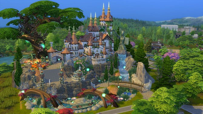 Sims 4 Magical Wizard Castle by bradybrad7 at Mod The Sims 4