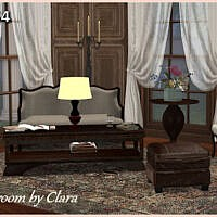 Clara's Livingroom Recolors By Chalipo