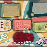 Retro Radios Ii By Arwenkaboom