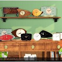 Mid-century Table Clocks By Severinka