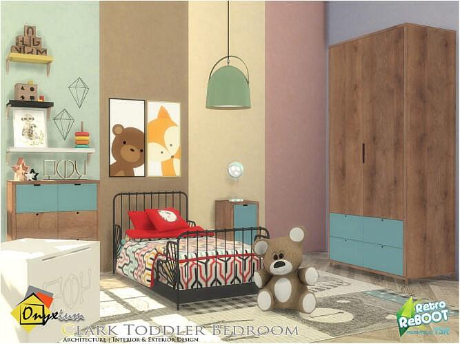 Retro Clark Toddler Bedroom By Onyxium