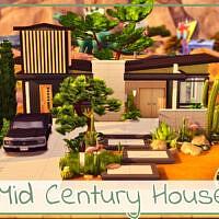 Mid Century House By Simmer_adelaina