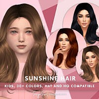 Sunshine Hair Kids By Sonyasimscc