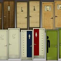 Toilet Doors By Mabra