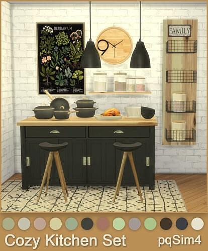 Cozy Kitchen Set
