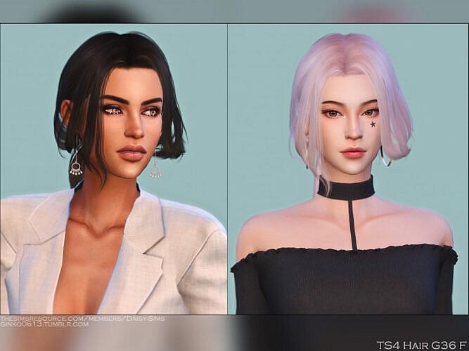 Female Hair G36 By Daisy-sims