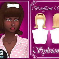 Retro Bouffant Wig Hair And Acc Set By Sylviemy