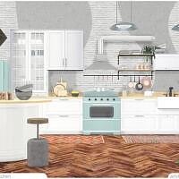 Retro Reboot April Kitchen By Artvitalex