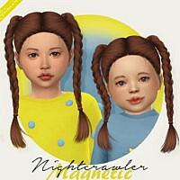 Nightcrawler Magnetic Hair For Kids & Toddlers
