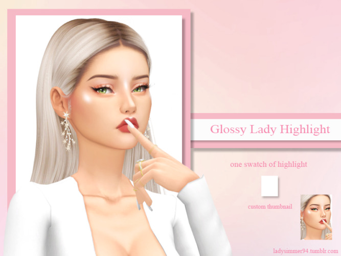 Glossy Lady Highlight By Ladysimmer94