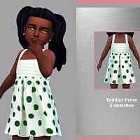 Toddler Dress Sandy By Lyllyan