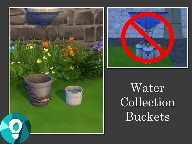 Water Collection Buckets By Teknikah