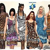 Leo Dress By Chalipo
