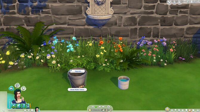 Sims 4 Water Collection Buckets by Teknikah at Mod The Sims 4