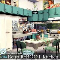 Retro Kitchen By Nobody1392