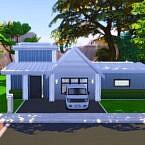 Scandinavian House By Yìng Yue