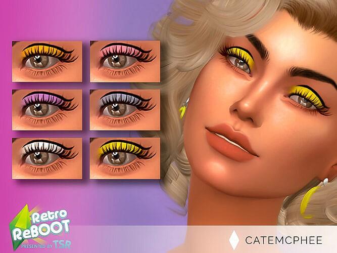 Retro Twiggy Eyeshadow Es-20 By Catemcphee