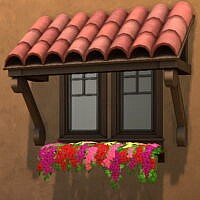 Better Tiled Awning Mesh By Qahne