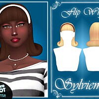 Retro Flip Wig Hair And Acc Set By Sylviemy