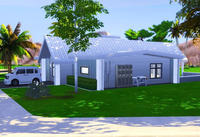 Sims 4 Scandinavian House by yìng yue at The Sims Lover