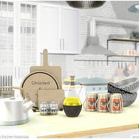 Retro Georgia Kitchen Materials By Artvitalex