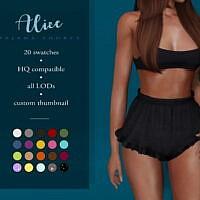 Alice Pajama Shorts