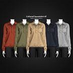 Collared Sweatshirt Af