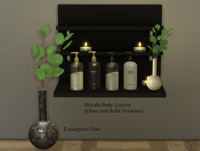 Sims 4 Body lotions at Leo Sims