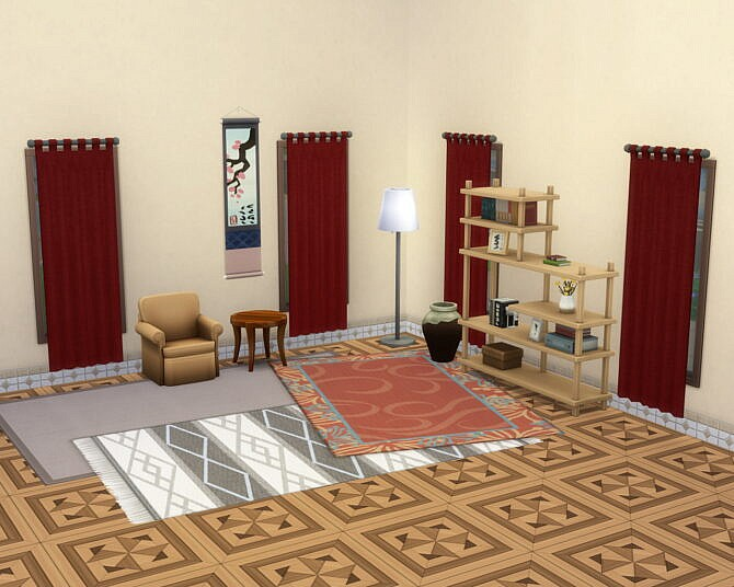 Sims 4 Homely Panels by Sarinilli at Mod The Sims 4