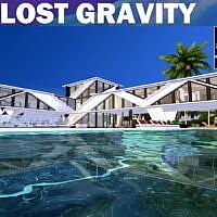 Lost Gravity Modern Futuristic Home By Cicada